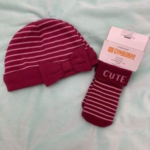 Gymboree Accessories - NWT hat and socks